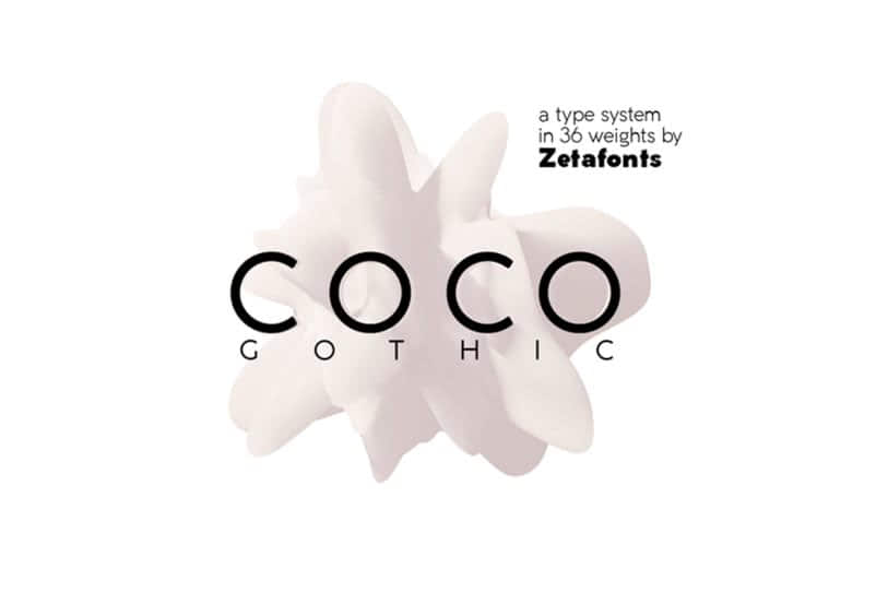 coco free font