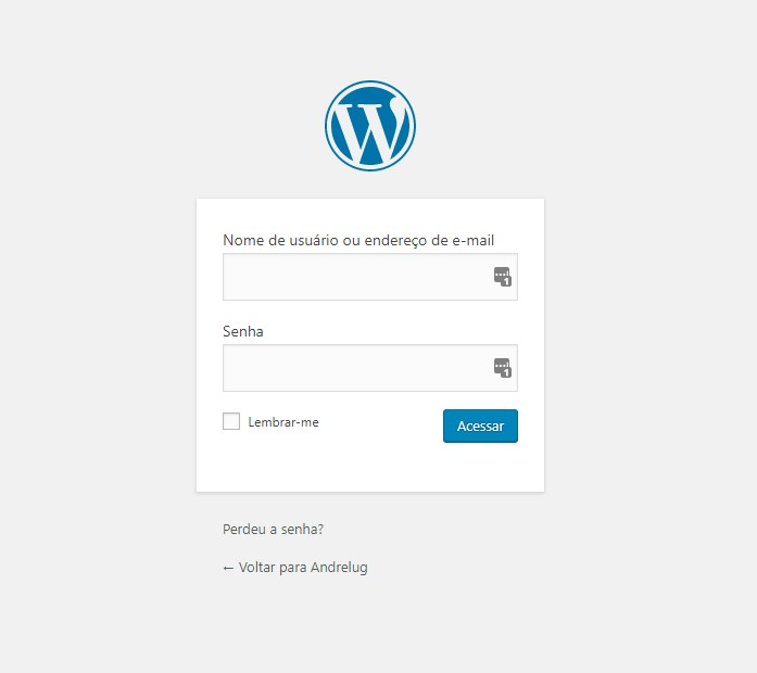 Segurança na página de login do WordPress